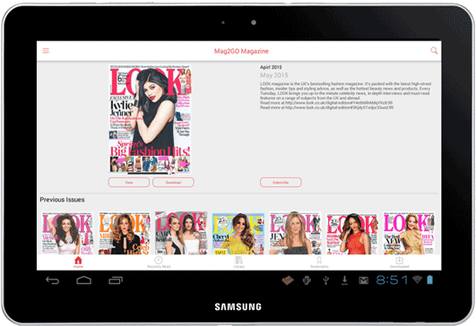 Create Magazine App in minutes